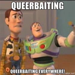 Image result for queerbaiting